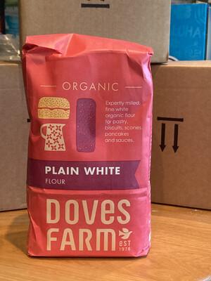 Organic Plain Flour 1kg Bag
