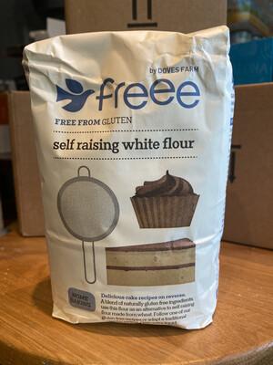 Doves Farm Gluten Free White self-raising Flour 1kg