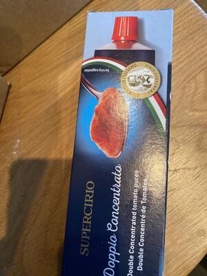 Tomato Puree Cirio 140g Tube
