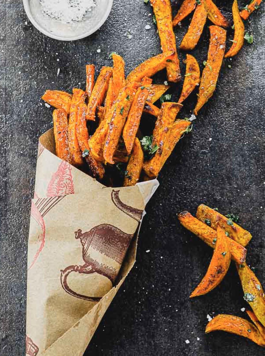 Sweet Potato Fries (add a topping?)