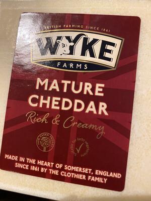 Cheddar Cheese Wakefield 200g Block