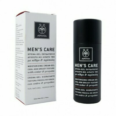 APIVITA MEN CARE GEL-CREMA HIDRATANTE 50ML