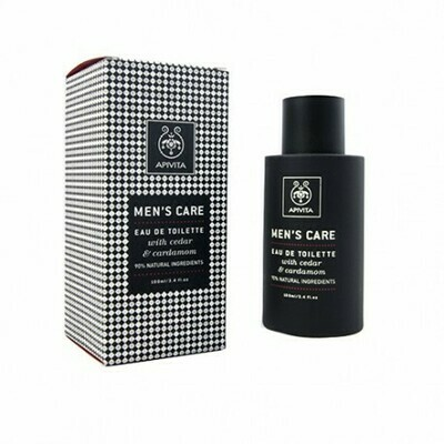 APIVITA MEN CARE EAU TOILETE 100ML