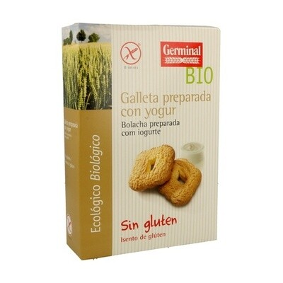 GERMINAL GALLETA PREPARADA CON YOGUR S/G 250G