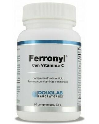DOUGLAS FERRONYL CON VIT C 60 COMP