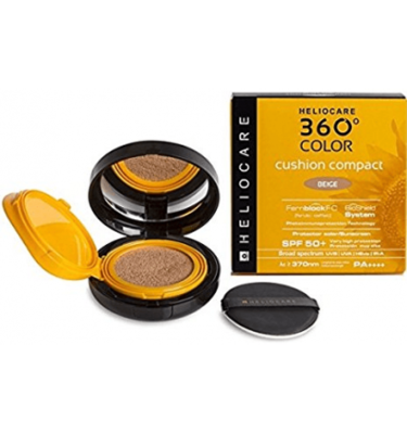 HELIOCARE 360º COLOR CUSHION COMPACT SPF 50  PRO BEIGE 15 G