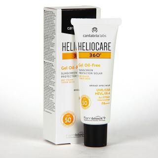 HELIOCARE 360º SPF 50 FLUIDO GEL OIL FREE 50 ML