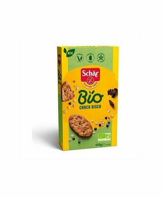 BIO CHOCO BISCO GALLETAS AVENA CON CHOCOLATE SIN GLUTEN 105 GR SCHAR