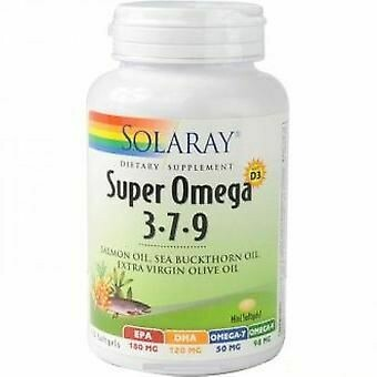 SOLARAY SUPER OMEGA 3-7-9 120 PERLAS