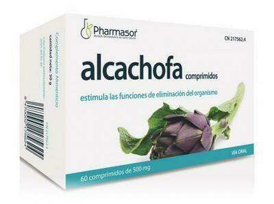 ALCACHOFA SORIA NATURAL 500 MG 60 COMP