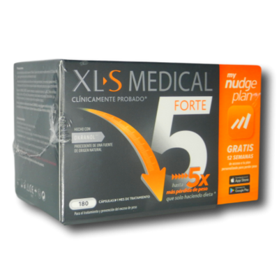 XLS MEDICAL FORTE 5 NUDGE 180 COMPRIMIDOS