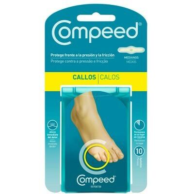 COMPEED CALLOS HIDROCOLOIDE T- MED 10 U