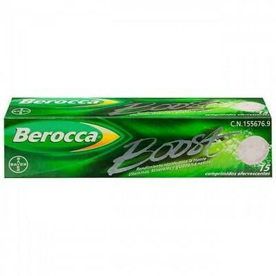 BEROCCA BOOST 15 COMP EFERV