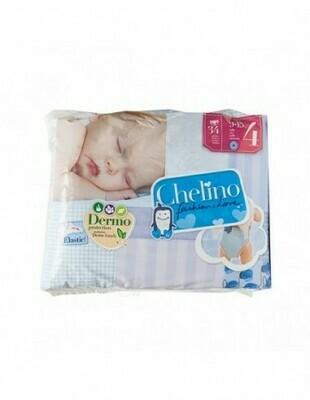 PAÑAL INFANTIL CHELINO FASHION  LOVE T- 4 (9 - 15 KG) 36 PAÑALES