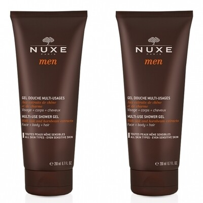 NUXE MEN DUO GEL DOUCHE 2X200ML