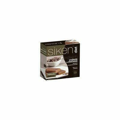 SIKEN DIET SANDWICH CRUJIENTE DE CHOCOLATE 6 U