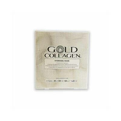GOLD COLLAGEN MASCARILLA 4 UNIDADES