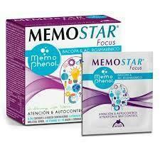 MEMOSTAR FOCUS 30 SOBRES INTERSA