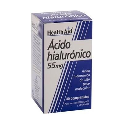 HEALTH AID ACIDO HIALURONICO 55MG 30 COMP