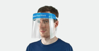 Medical Isolation Face Shield
