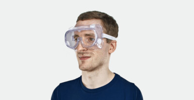 Full Protection Medical Goggles