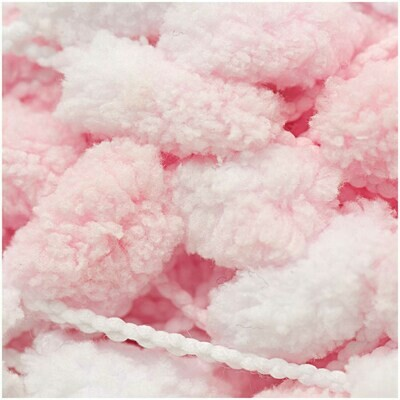Rico Pompon - Pink and White
