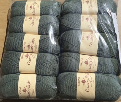 Sirdar Country Style 4ply - pack of 10 50g balls