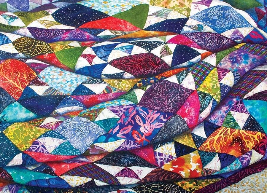 Portrait of a Quilt - 500 Piece Cobble Hill Puzzle