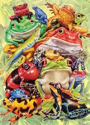 Frog Pile Family Pieces - 350 piece Cobble Hill Puzzle