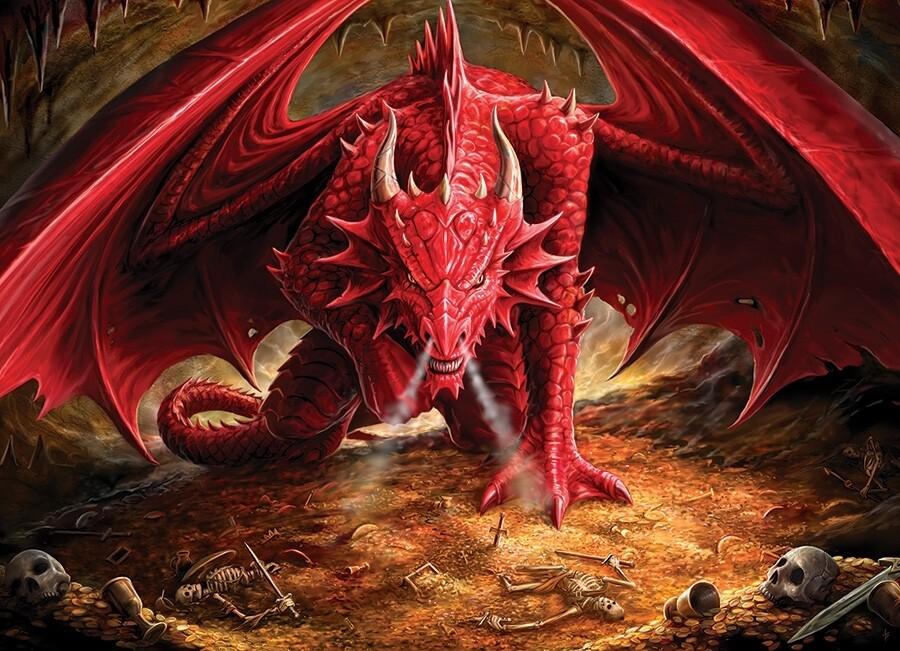 Dragon's Lair - 1000 Piece Cobble Hill Puzzle
