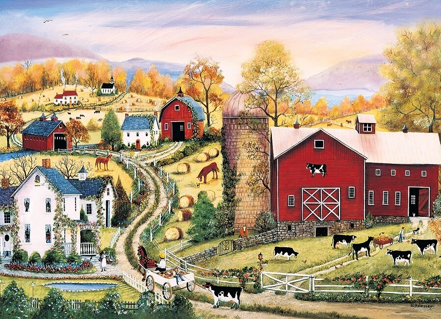 Leading the Way - 1000 Piece Cobble Hill Puzzle