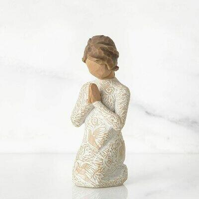 Prayer of Peace - Kneeling Girl