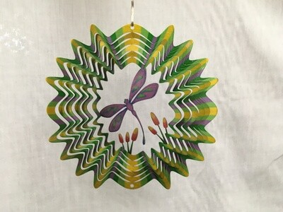 Dragonfly Small  - Cut out Design Wind Spinner