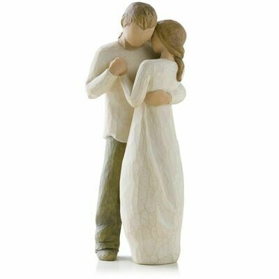Promise - Man and Woman Dancing - Willowtree Figurine