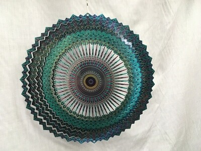 Celestial Mandala Large - Wind Spinner