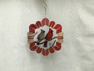Cardinals Small - Wind Spinner