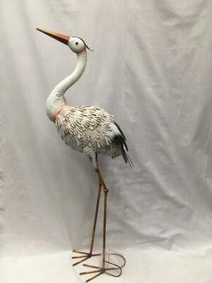 White Standing Heron - 36