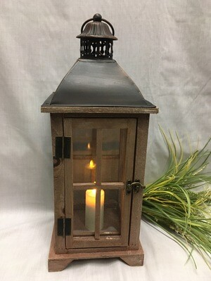 Georgian Bay, Brown Decorative Lantern 18