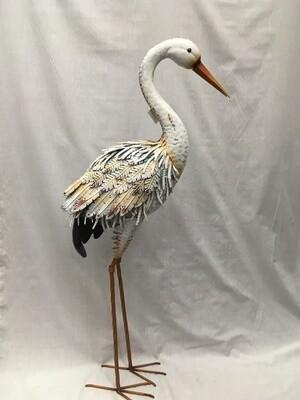 White Standing Heron - 40