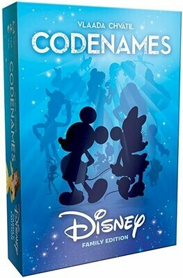 Codenames, Disney - Party/Family Game -  2 - 8 players,  Ages 8 and up
