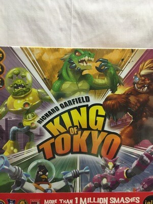 King of Tokyo - Board Game - 2-6 players ages 8 and up