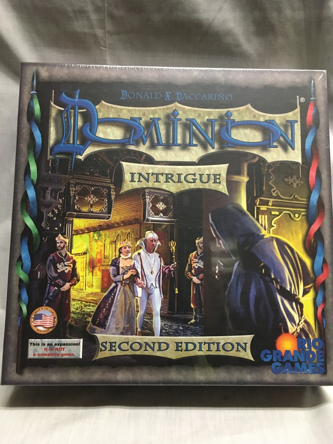 Dominion - Intrigue Expansion - Second Edition (This is not a stand alone game - MUST be played with base game or base cards sold separately)