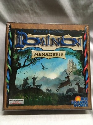 Dominion - Menagerie Expansion (This is not a stand alone game - MUST be played with base game or base cards sold separately)