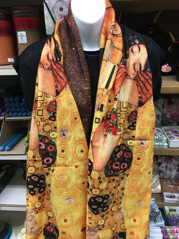 Oil Painting Wrap - The Kiss, Gustav Klimt