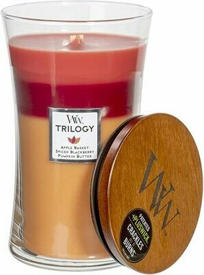 Autumn Harvest - Large Trilogy - WoodWick Candle