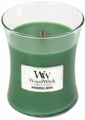 Windowsill Herbs - Medium - WoodWick Candle