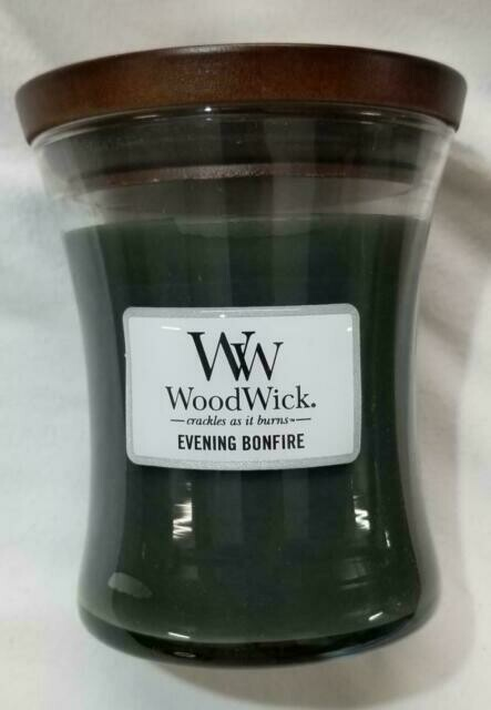 Evening Bonfire - Medium - WoodWick Candle