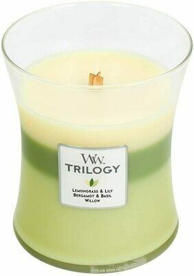 Garden Oasis - Medium Trilogy - WoodWick Candle