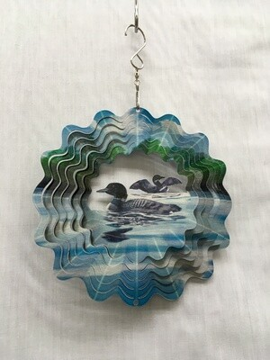 Loons Small  - Wind Spinner