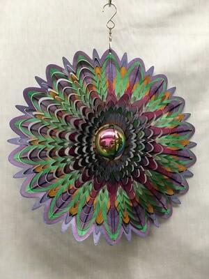 Colourful Mandala, Large - Wind Spinner
